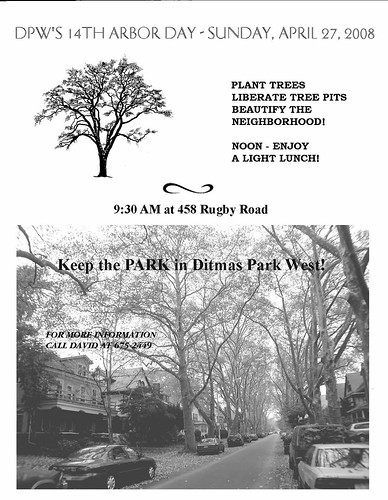 Ditmas Park West Arbor Day 2008