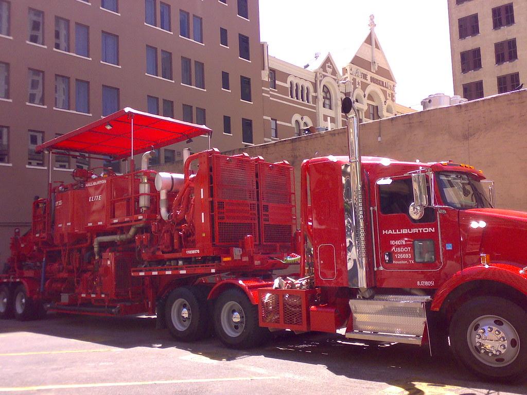 18042008686 Smartt Tags Red Truck Austin Halliburton