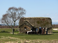 Culloden Moor, nr Inverness (Tracey Paterson) Tags: building history tourism museum architecture scotland costume highlands reenactment culloden cullodenmoor