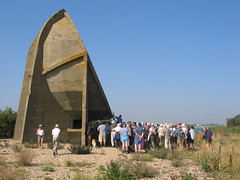 Guided walk to the 30 foot sound mirror at Dungeness