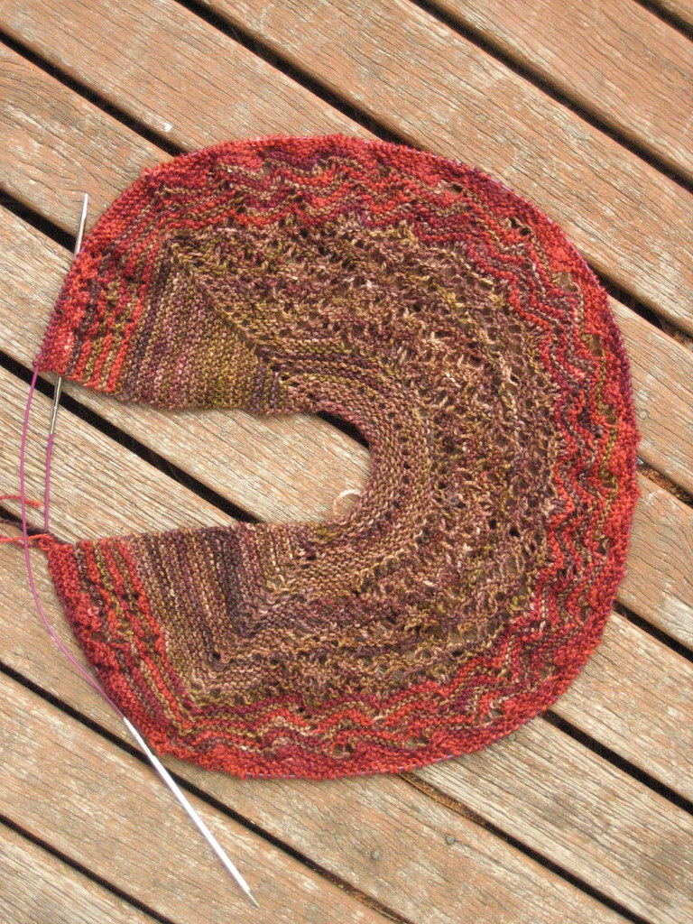 Pi-Are-Squared Shawl