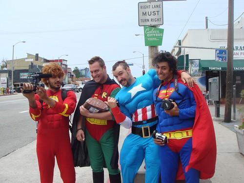 Super Heroes in Venice!