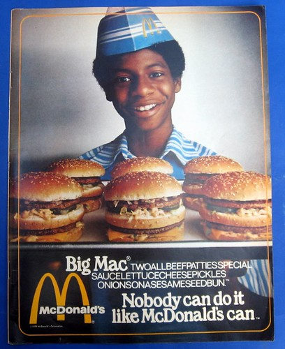 "1979 McDonalds ""Nobody Can do it like McDonalds Can"" por SA_Steve."
