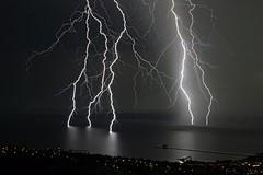 Nationaldagsovder 2 (tombosius) Tags: nature water natur lightning storms dalarna siljan themoulinrouge rttvik ovder blixtar mywinners perfectangle vision1000 vision100