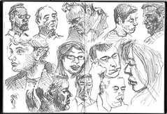 Tube Sketches in pen (tobybear) Tags: art portraits sketch artwork artistic drawing creative myart create sketches myartwork artworks pendrawing artbyme workofart pieceofart creativework artisticwork trainsketches artistswork drawingpeople artisticcreation subwaysketches artworkbyme peopledrawing creativepiece drawingsofpeople peopledrawings traindrawings tubesketches sketchesonthetrain sketchingonthetrain drawingsonthetrain sketchesofpeople peoplesketches createdart