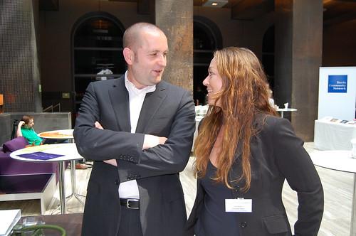 Jörg Blumtritt und Christina Heinz