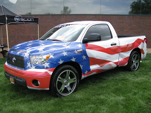 Supercharged all-american Tundra.