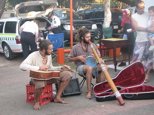 Buskers Mindil Beach Market