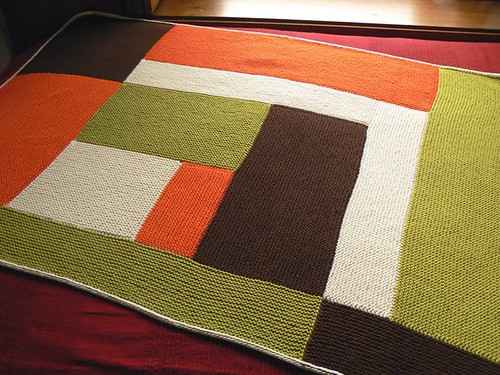 moderne baby blanket FO