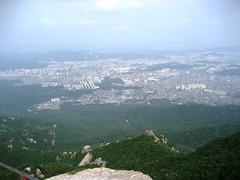 View from Baegundae