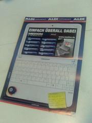 Aldi-Werbung Medion akoya Mini 10
