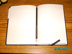 Canteo Open (Nrepose) Tags: pencil notebook journal write stationary canteo