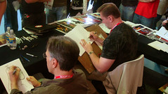 Chaykin and Jusko Perth signing
