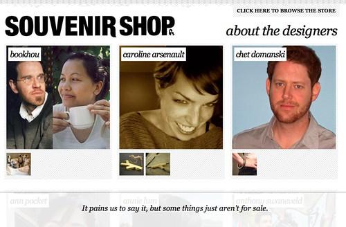 The Souvenir Shop - Je Me Souviens