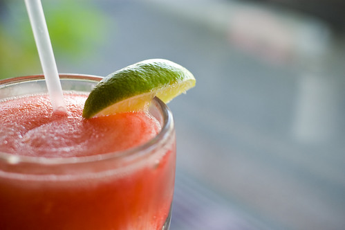Strawberry margarita – the perfect longevity drink.