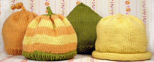 Free Knitting Pattern Baby Sun Hat : Kathy s Baby Hats   Loop Knits