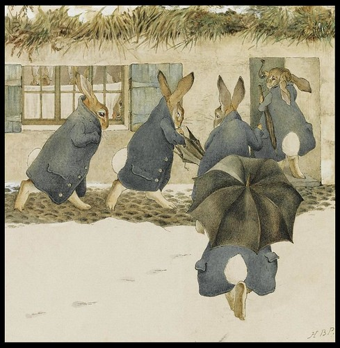 The Rabbits' Christmas Party - The Arrival