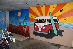 DSC_0780 (Kurt Christensen) Tags: art beach painting mural surf thrust gilgobeach gilgo