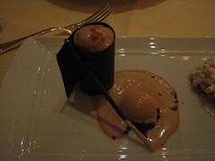 Daniel: Bittersweet chocolate praline cremeux
