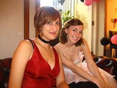 Jessica and Stephanie