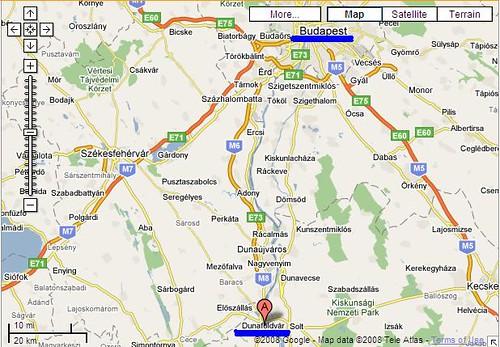 dunaföldvár térkép Túri Állatkórház, Dunaföldvár » Elérhetőségek dunaföldvár térkép