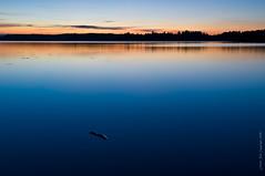 Calm surface (Rob Orthen) Tags: sunset sky lake rock night suomi finland landscape still nikon europe sundown rob scandinavia kivi maisema vesi sysmä kesä pinta summernight d300 järvi auringonlasku gnd salajärvi 175528 leefilter orthen lakefinland roborthenphotography gnd06soft