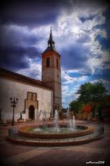 Iglesia de Algete (Pablo Arias) Tags: madrid nikond50 hdr picnik edificiosymonumentos fractalius