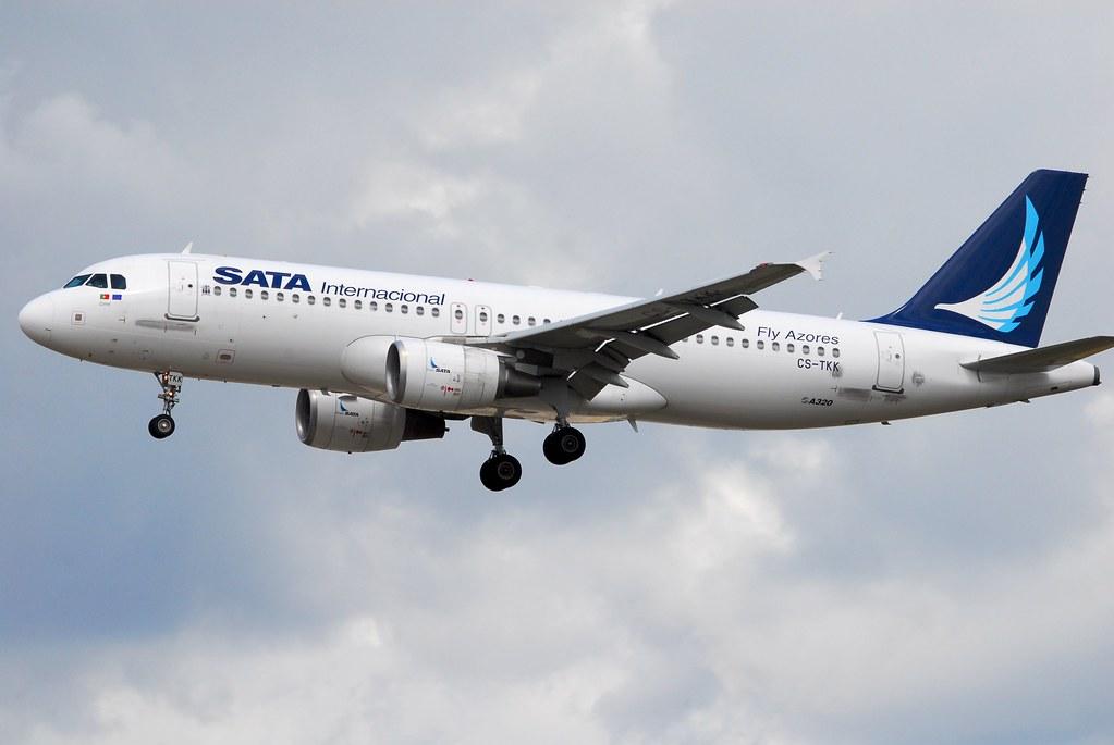 SATA Internacional Airlines Airbus A320-214 CS-TKK Corvo (20544)