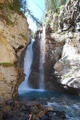 Banff69 JC Upper Falls (sonjakastner) Tags: banff johnstoncanyon banffgondola