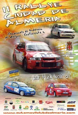 II RALLYE CIUDAD DE ALMERIA 2007