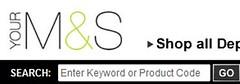 M&S search box