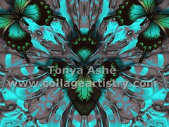 Metamorphosis of  An Obdurate Heart (Tonya Ashe) Tags: love digital butterfly heart metamorphosis obdurate tonyaashe