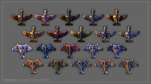 Warhawk - SCEE PaintSchemeWinners_Large por PlayStation.Blog.