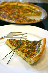 Onion cheese cake (Lea's UW Photography) Tags: cook cheesecake onion zwiebel kochen ksekuchen