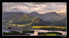 Derwent Water. (numanoid69) Tags: mountains landscape nationalpark derwent lakedistrict fells derwentwater latrigg waterlake nikond300 districtcumbriauknational prideofengland