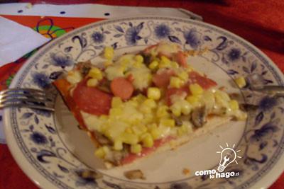 Como Crear una Pizza Casera #Facil