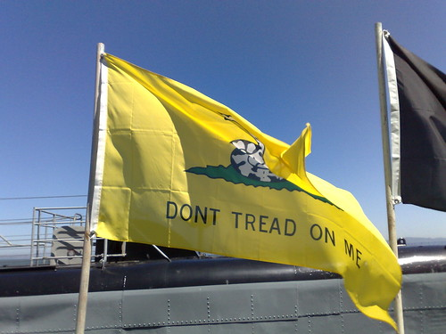 Don't Tread on Me! by markhillary, on Flickr