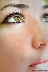 Cat's eye (Conrad Castelo) Tags: macro green ex closeup dc eyes nikon close kathleen sigma castelo conrad f28 d300 1850mm hsm 1850mmf28exdcmacrohsm conradcastelo