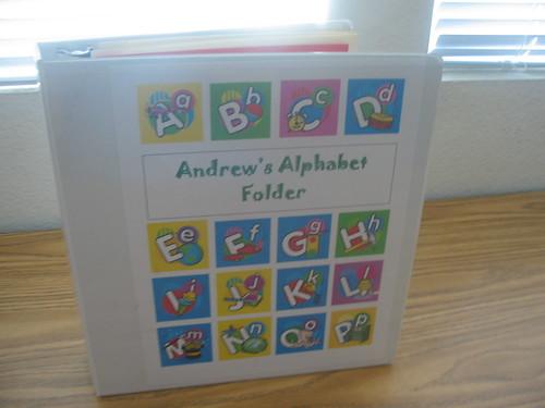Preschool Notebook 001