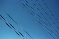 Lines (dealinhoz) Tags: film losangeles filmcamera telephonewires nikonn90s culvercity nikonn90