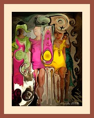 Inseguridad frente a un espejo (Diffidence in front the mirror) (Marvillas) Tags: woman art fashion photoshop mirror mujer model arte moda modelo virtual espejo abstraction seguridad amazingcolors inseguridad blueribbonwinner selfconfidence diffidence abstraccion flickrsbest golddragon abigfave eyecandyart goldstaraward confiaza