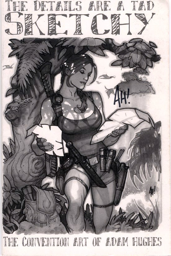 Portada (Adam Hughes Sketchbook, 2008)