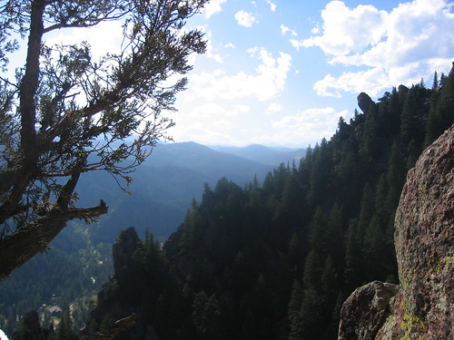 View from Last Belay of Swanson's Arete