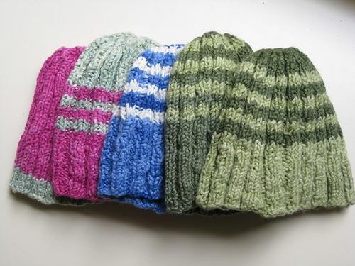 5 soft hats