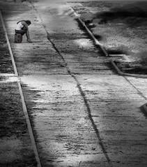 Desperando (Fernando Rey) Tags: girl way alone chica sad camino triste soe sola