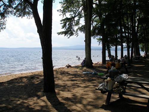 Sebago beach