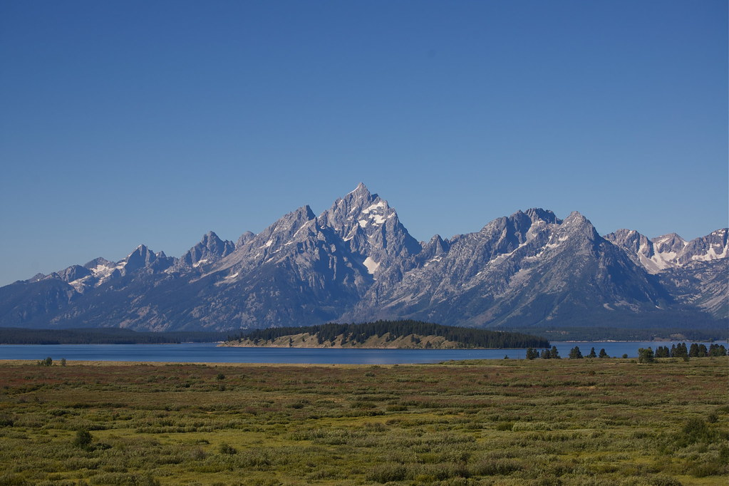 grand tetons, from the Jackson Lounge