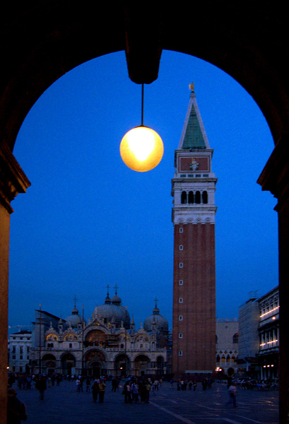 Arch with Light, Saint Marks Square, Venice, Italy