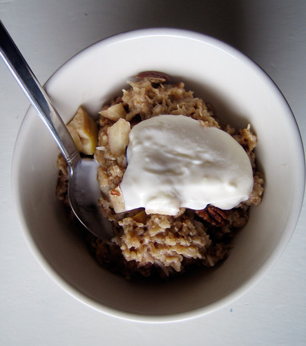 best oatmeal ever: baked oatmeal with apples | Everybody Likes ...