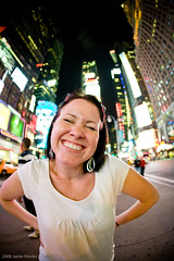 silly me (Jamie Fender) Tags: newyorkcity timessquare canonef15mmf28fisheye jamiefender canoneos1dsmarkiii